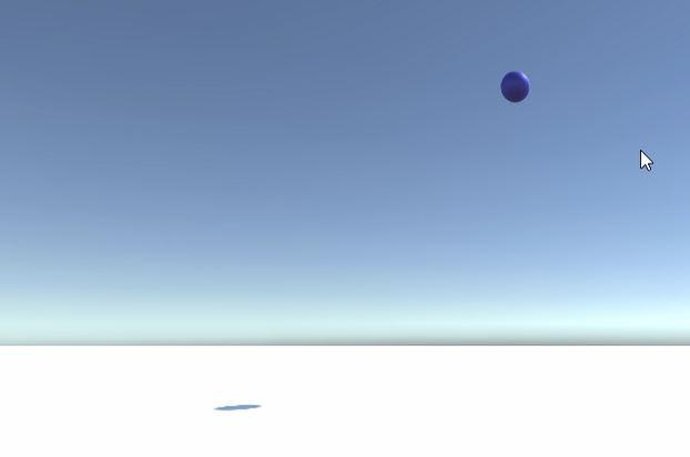 UnityのAddForce関数でボールを遠くに飛ばす