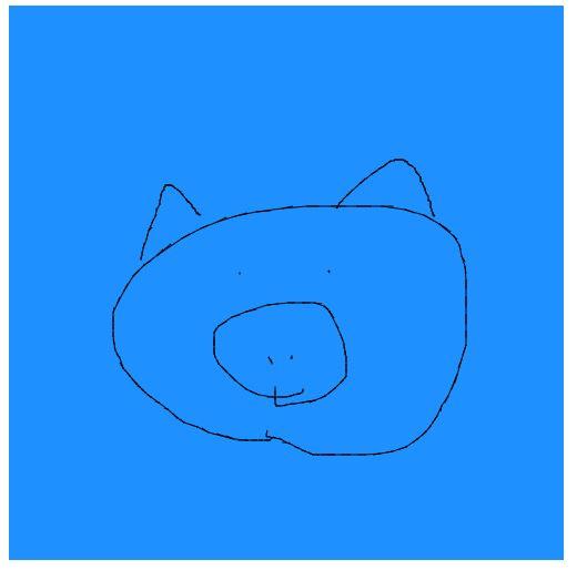 p5.jsでお絵描きのイメージ画像
